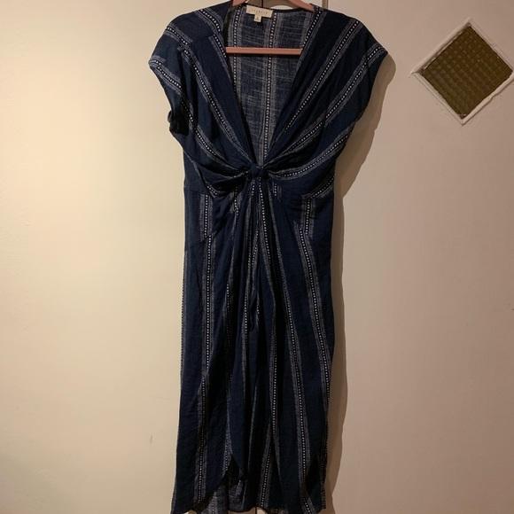 Vici Tie Front Dress